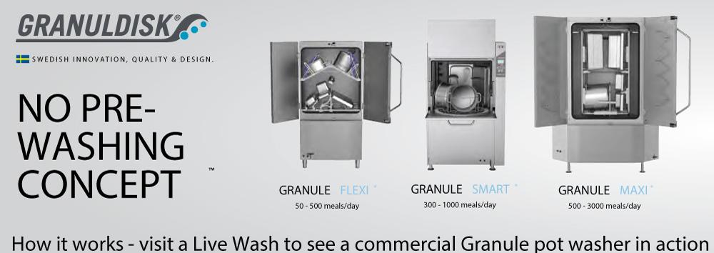 """เครื่องล้างหม้อ """"Granuledisk"""""""