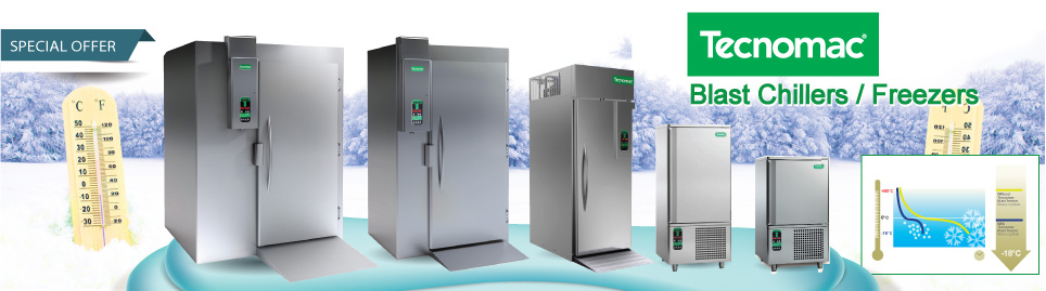 Blast chiller and Shock Freezer