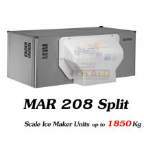 เครื่องทำน้ำแข็งแผ่น Scotsman  รุ่น MAR208 Split
