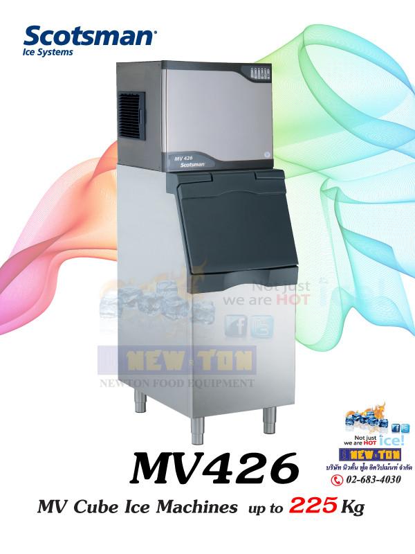 เครื่องทำน้ำแข็งก้อนสี่เหลี่ยม รุ่น MV.426